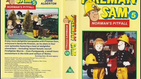 Fireman Sam 5 - Norman's Pitfall VHS (1990)