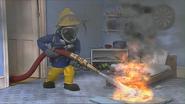 Sam holding hose (Series 5) 4