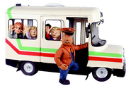 Trevor, his bus, Sarah, James, Mandy and Norman (Series 5)