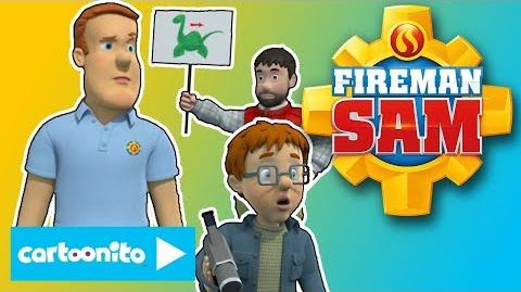 Fireman Sam The Pontypandyness Monster Cartoonito UK