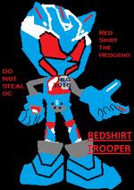 Redshirt the Hedgeho