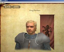 King Harlaus
