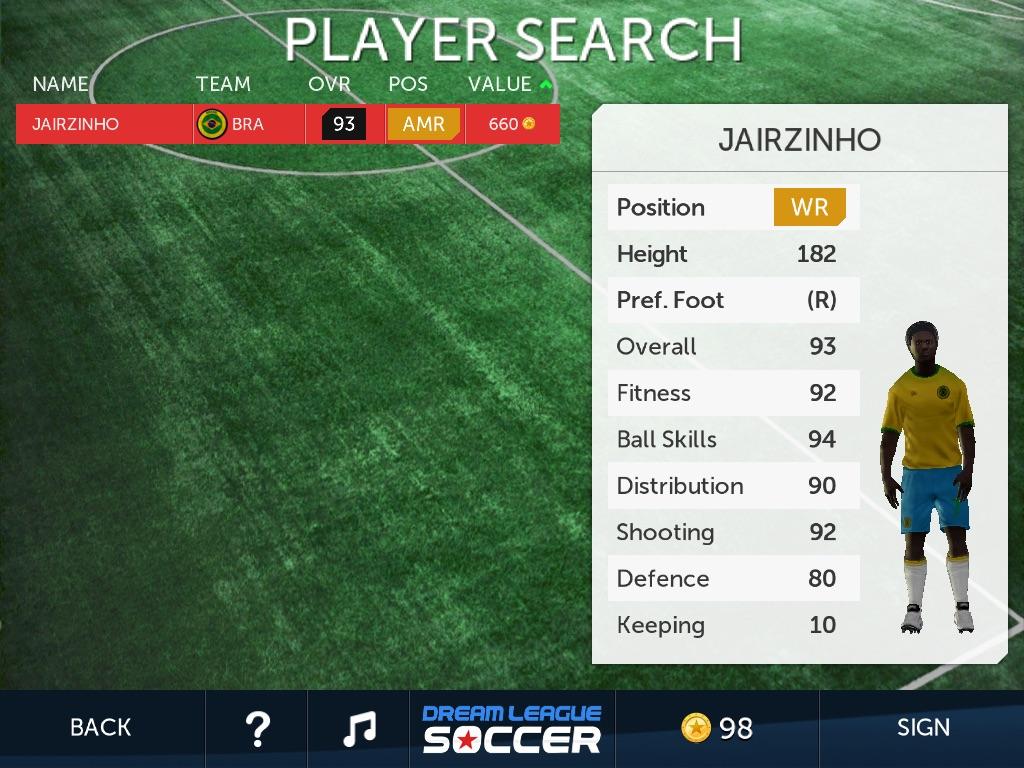 Jairzinho First Touch Dream League Soccer Wiki