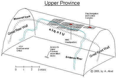 Map of Upper Province