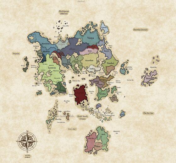 MAP FIRTH 20