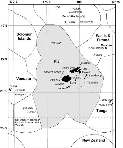 Fiji Fishery Management FANDOM Powered By Wikia - Republic of fiji map