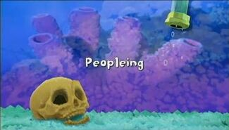 Peopleing title card