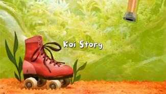 Koi Story title card
