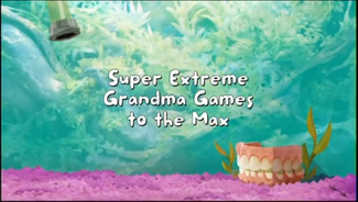 Super Extreme Grandma Games to the Max title card