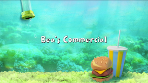Bea's Commercial title card