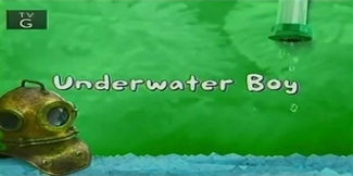 Underwater Boy title card