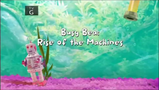 Busy Bea Rise of the Machines title card
