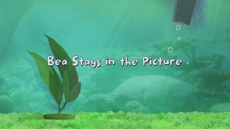 Bea Stays in the Picture title card 2