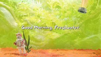 Fish Hooks Good Morning Freshwater Title Card