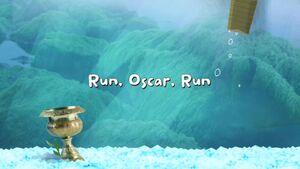 Run, Oscar, Run title card