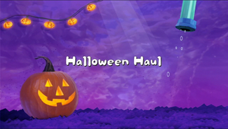 Halloween Haul title card