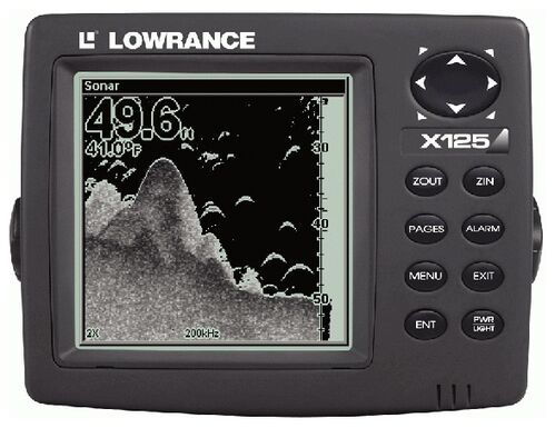 Lowrance X125