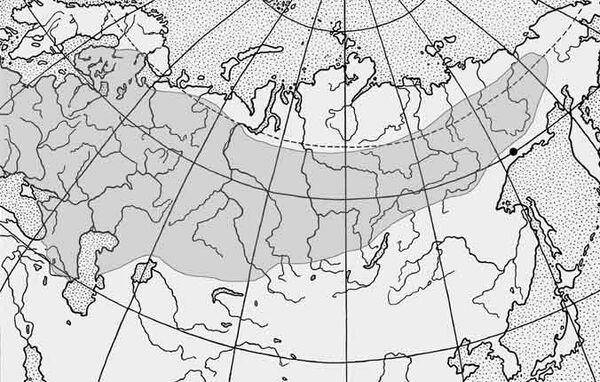 Карта поширення карася