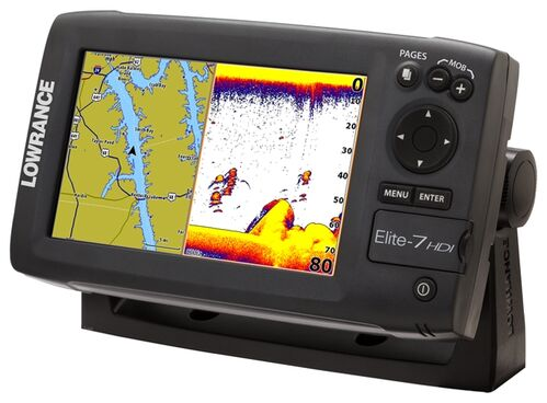 Lowrance Elite-7 Broadband 50 200