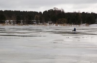 Зимова риболовля в березні
