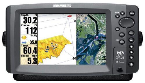 Humminbird 967c 3D Combo