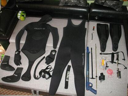 Вибір спорядження для підводного полювання і риболовлі