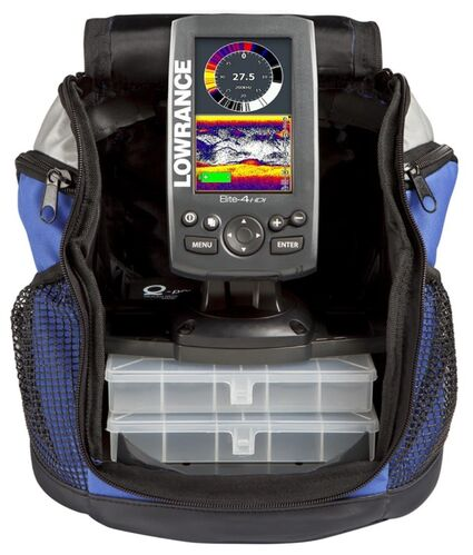 Lowrance Elite-4x HDI IceMachine 83 2004