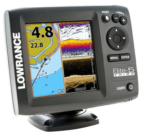 Lowrance Elite-5 CHIRP 83 200 455 8002