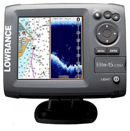 Lowrance Elite-5 DSI Gold