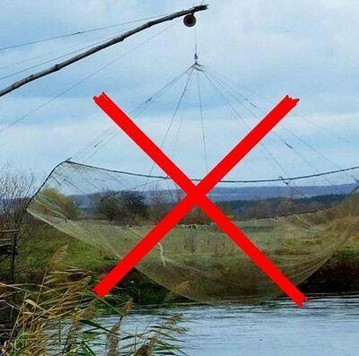 Заборонені снасті для риболовлі в квітні