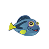 Blue Hippo Tang (2)
