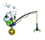 Bubble-powered-aqua-pole