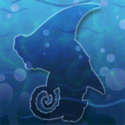 Centaur-shark hidden