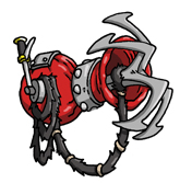 Grappling-cannon