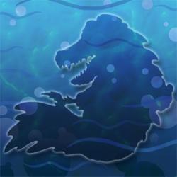 Aussie-croc hidden