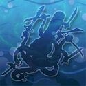 Sword-squid hidden