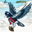 Patriotic-seabird revealed
