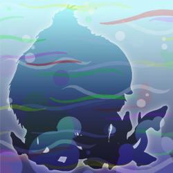 Wooly-squid hidden