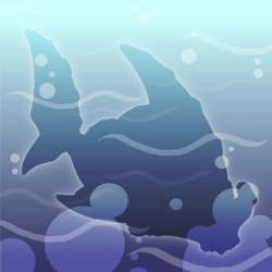 Sapphire Shark Hidden