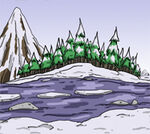 Snowpeak river