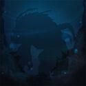 Yeti-crab hidden