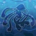 Medusa-jelly hidden