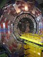 LHC - CMS waiting for tracker insertion