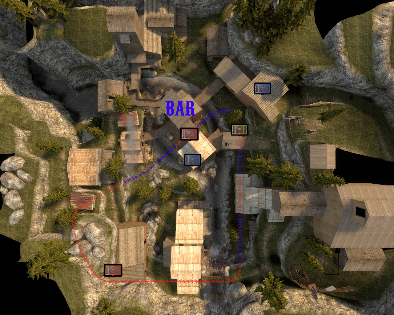 Fof crfiple Maps Fistful of Frags
