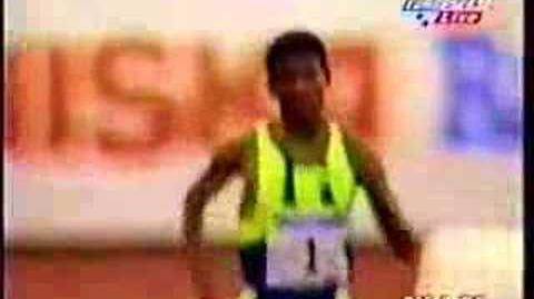 Haile Gebrselassie 1998 Helsinki 5000m WR 12 39.36 Part 2