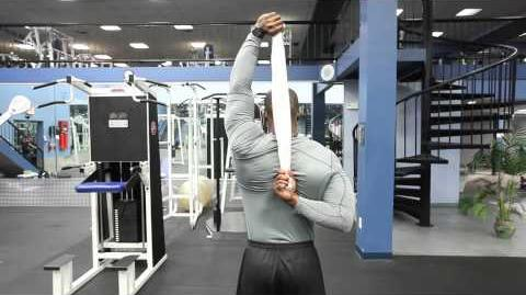 Back Shoulder Stretch