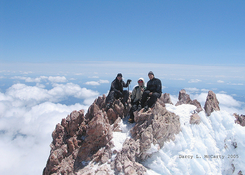File:Mt. Shasta, Kevin, Dave, and Darcy.jpg