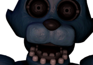 Last frame of Old Candy's jumpscare