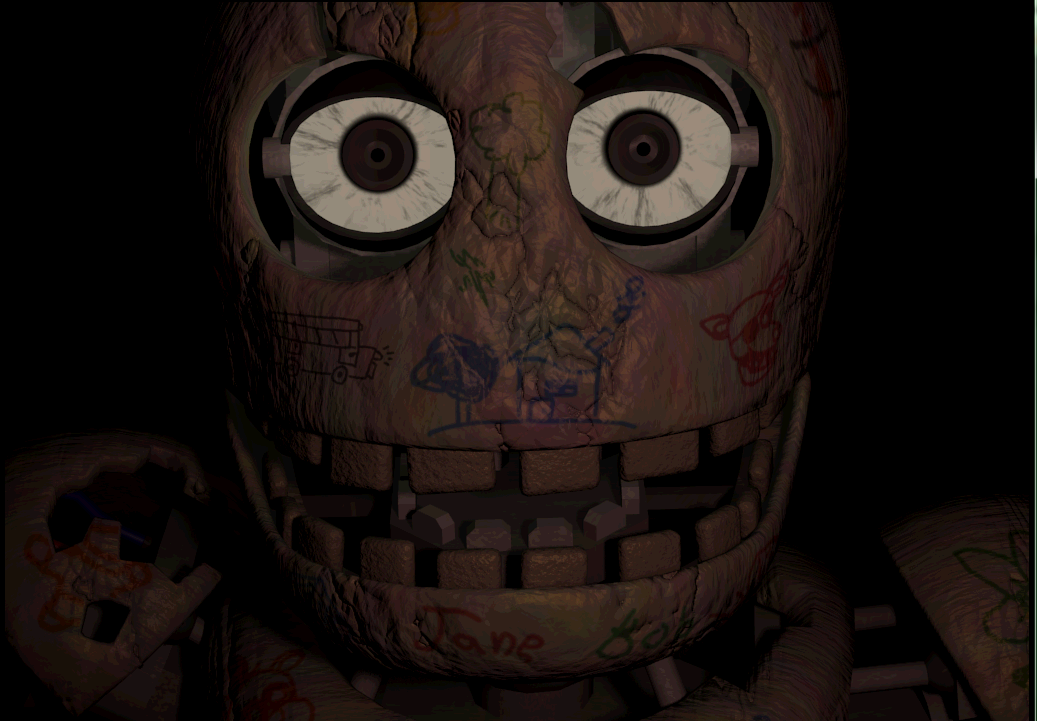 Blank the Animatronic | Five Nights at Candy's Wikia ...