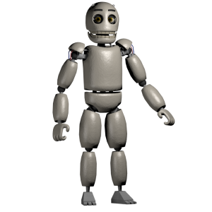 blank the animatronic five nights at candy s wikia fandom